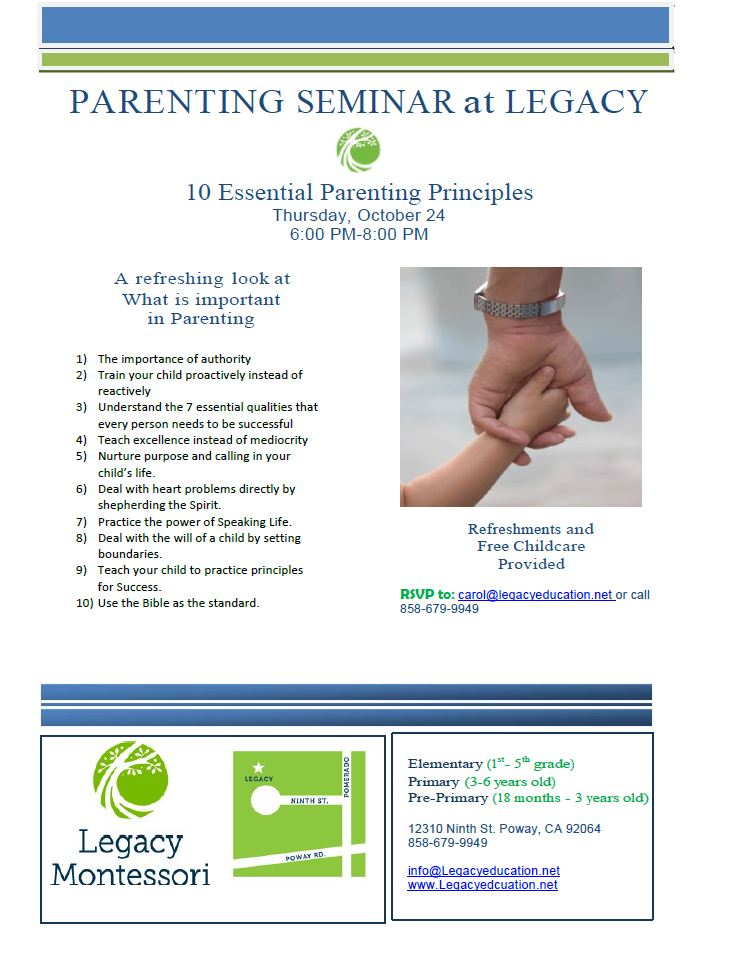 10-24-2013 Parenting Seminar flyer